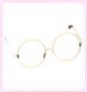 AM Gold Circle Glasses