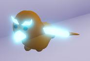 Neon Golden Griffin (Night)