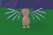 Dog with bone wingsssss