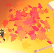 Fall Event Leaf Pile
