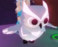 Mega Neon Snow Owl