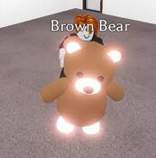Neon Brown Bear