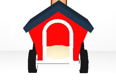 Dog House Stroller