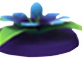 Flower Flying Disc