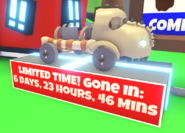 Dino Truck on Display