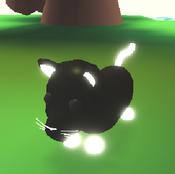 Neon Black Panther