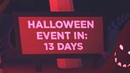 2021 Halloween sign