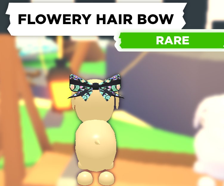 Flowery Hair Bow