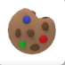 The Cookie Dough Plush as shown in a player's inventory.
