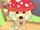 Eco Red Mushroom Hood