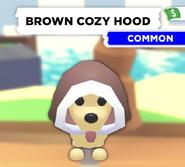 Brown Cozy Hood