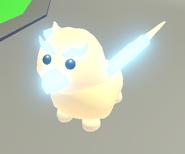 Neon Golden Griffin (Day)
