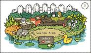 Garden Scene Pop-Up