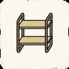 Bedroom Nightstands WoodenShelfUnit.png
