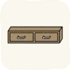 Lounge Cabinets BrownWallCabinet.png