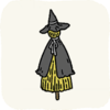 Garden Statues BlackWitchScarecrow.png