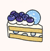 Kitchen food BlueberryCreamCake.png