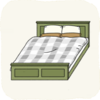 Bedroom Beds GreenClassicBed.png