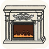 Lounge Others BaroqueFireplace.png