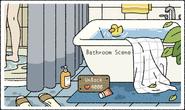 Bathroom Scene Pop-Up