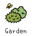 Adorable Home Garden Icon