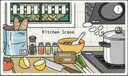 Kitchen Scene Pop-Up