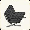 Lounge Chairs BarcelonaChair.png