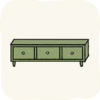 Lounge Cabinets GreenTvStand.png