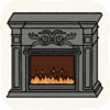 Lounge Others BaroqueFireplace2.png