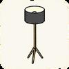 Lounge Lamps BlackFloorLamp.png