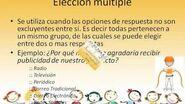 TIPOS DE PREGUNTAS DENTRO DE UN CUESTIONARIO
