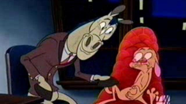 Banned Cartoons - Ren And Stimpy's Adult Party Cartoon - Ren Seeks Help