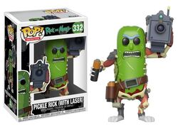 27862 Pickle Rick with Laser