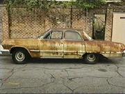 Adult Swim Rusty Car still image bump.