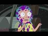 Rick and Morty season 4 episode 4 opening scene
