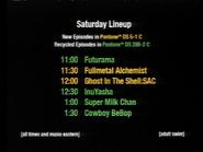 Adult Swim Programming Schedule