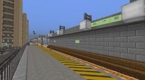 Quarry Pit station, August 2015