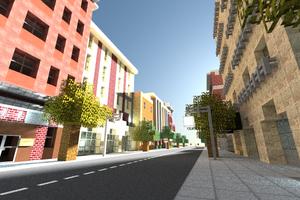 Dolanburg street scene along Hyunn Street, October 2014