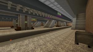Cirrus Avenue station platform, 14 February 2016