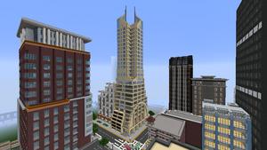 Tesseract City Tower, October 2016