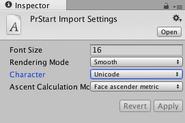 Font-import-settings