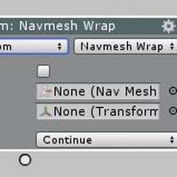 NavMesh Agent Wrap