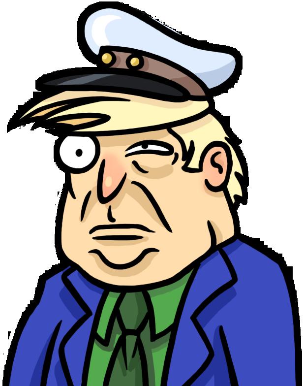 Captain D. Drumpf