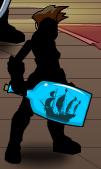 Ghost Ship in a Bottle