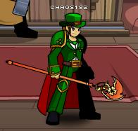 Clover Staff of Fire