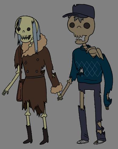 Скелетная парочка