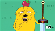 S1e4 Jake with Apple on head.png