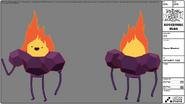 Modelsheet Fire Minstral