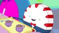S6e15 Peppermint Butler serves tea