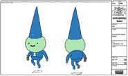 Modelsheet gnome2goodpose